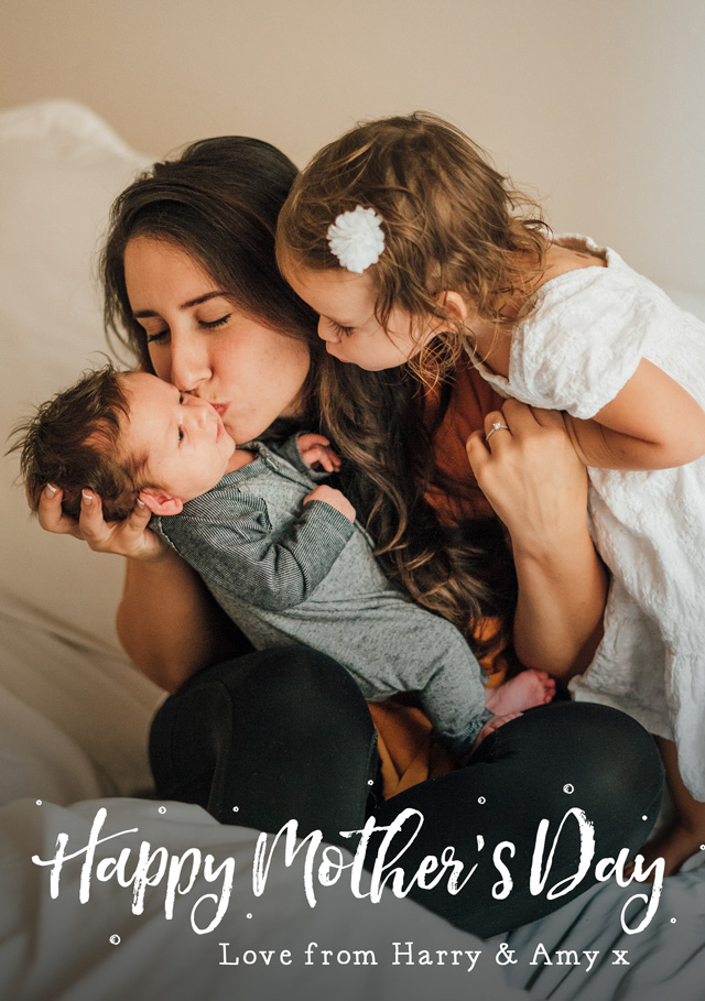 Create Photo Mother's Day Card Script  Card