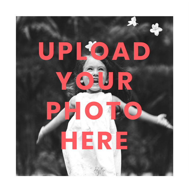 Create Square Photo Card White Border Card