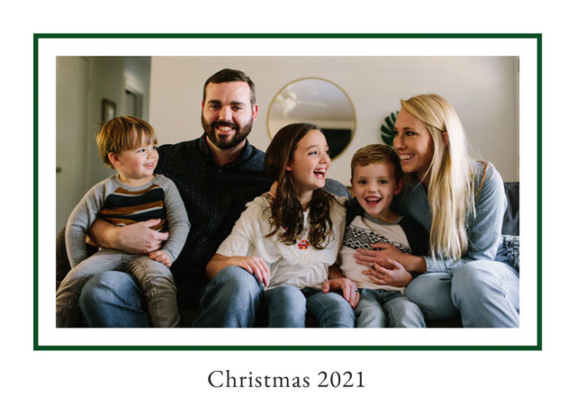 Create Prince Of Wales Personalised Christmas Card Card