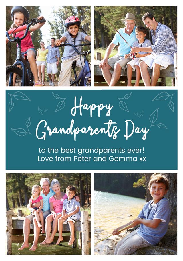 4x Collage Grandparents
