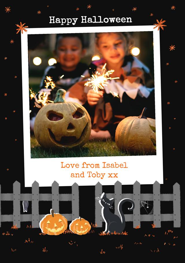 Polaroid Halloween