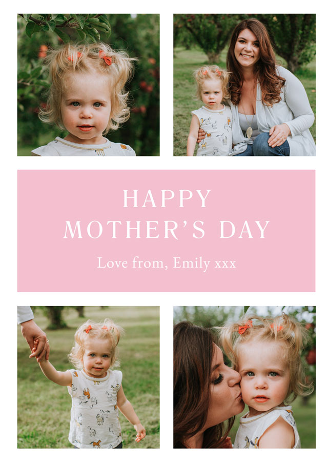 Create Photo Mother's Day Card Classic Card