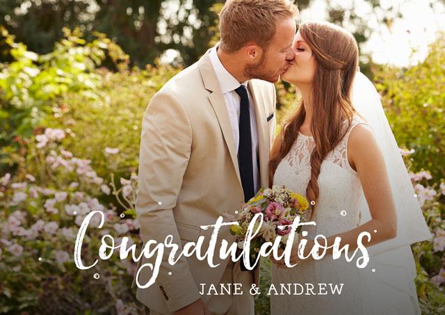 Congratulations Script