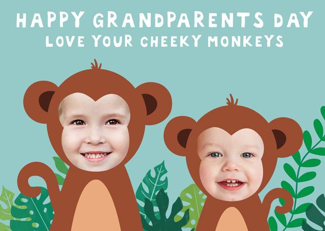 Monkey X2 Granparents Day