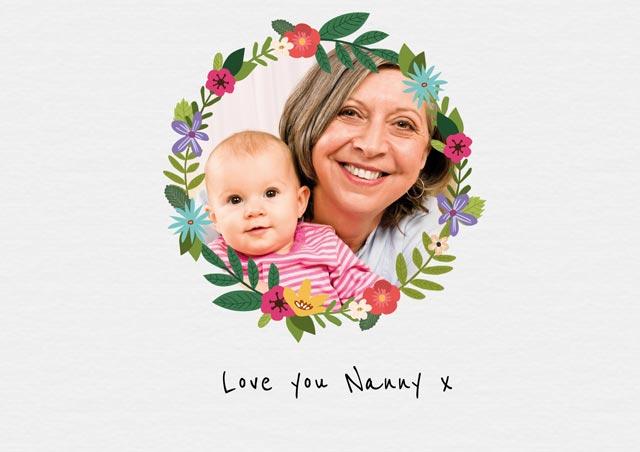 Wreath Nanny Grandparents Day