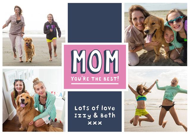 Mom Collage (Usa) X4