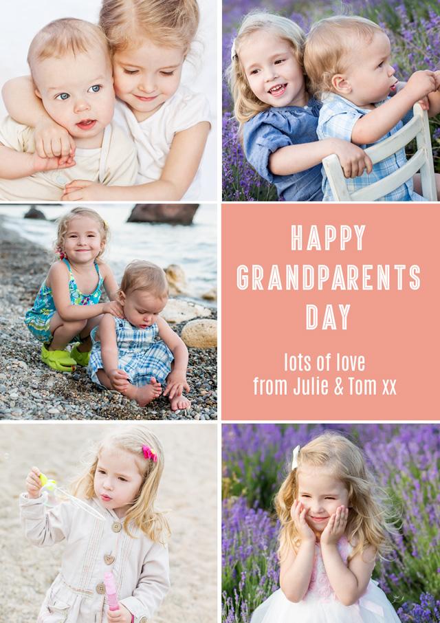 5x Collage Grandparents
