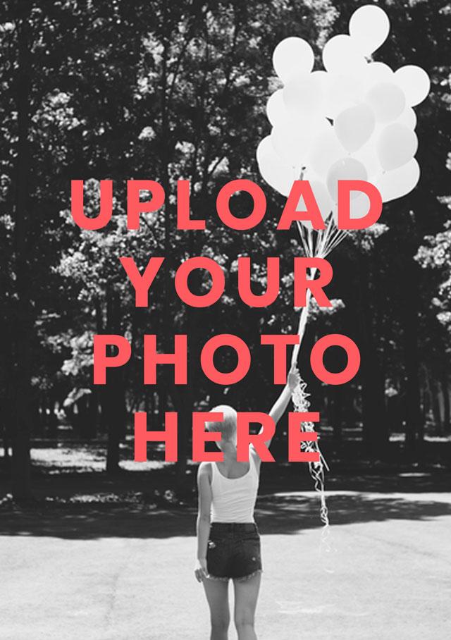 Create Portrait Photo Card Card