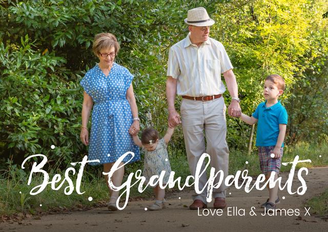 Best Grandparents Photo Overlay