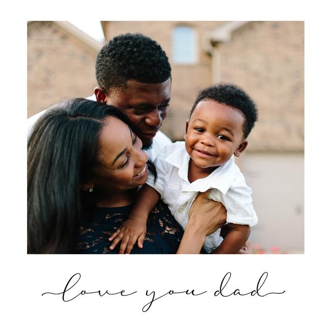 Create Love You Dad Card