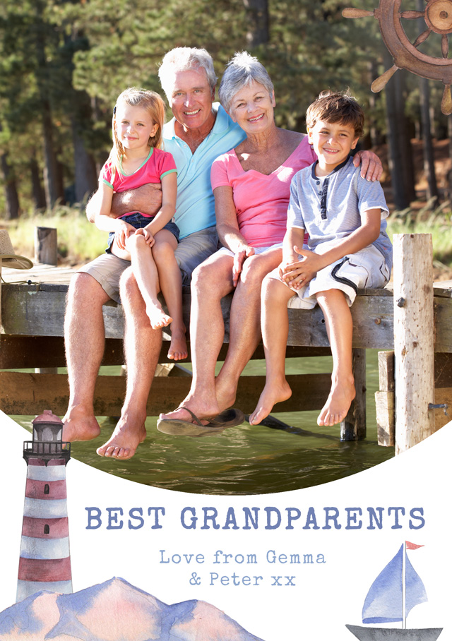 Sailing Theme Grandparents